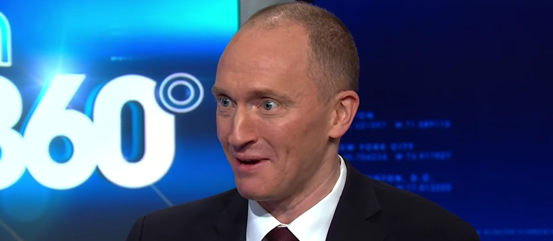 Carter Page talks to CNN's Anderson Cooper. (YouTube screen grab/CNN)