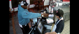 Jimmy John's Employee Doesn't Flinch With Armed Robber's Gun In His Face [VIDEO]