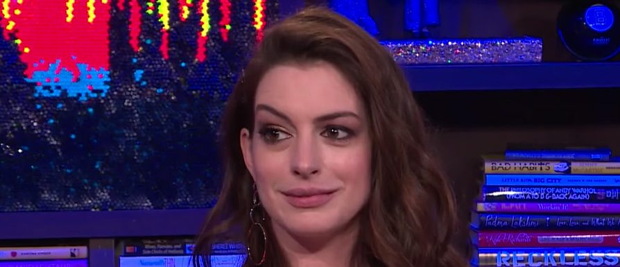 Anne Hathaway (Photo credit: screengrab/YouTube Watch What Happens Live With Andy Cohen)