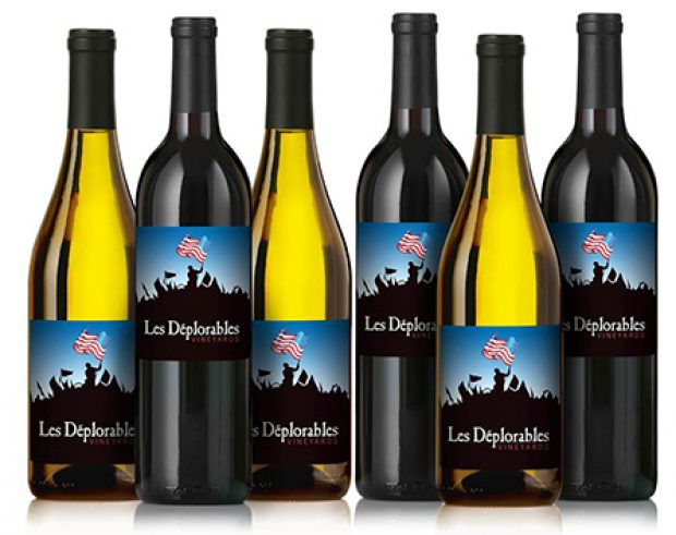 You can get six Les Deplorables wines at once