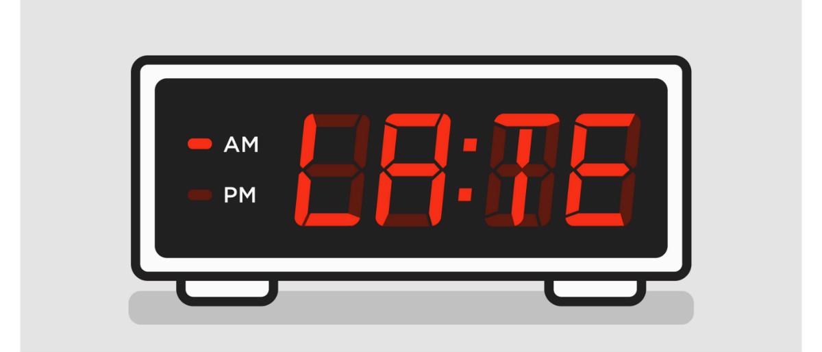 late alarm Shutterstock/Run The Jewels