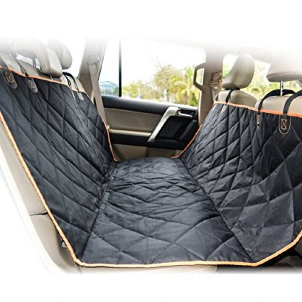Normally $46, this pet seat cover is 46 percent off with code (Photo via Amazon)