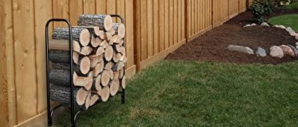 You can still get use out of this log rack (Photo via Amazon)