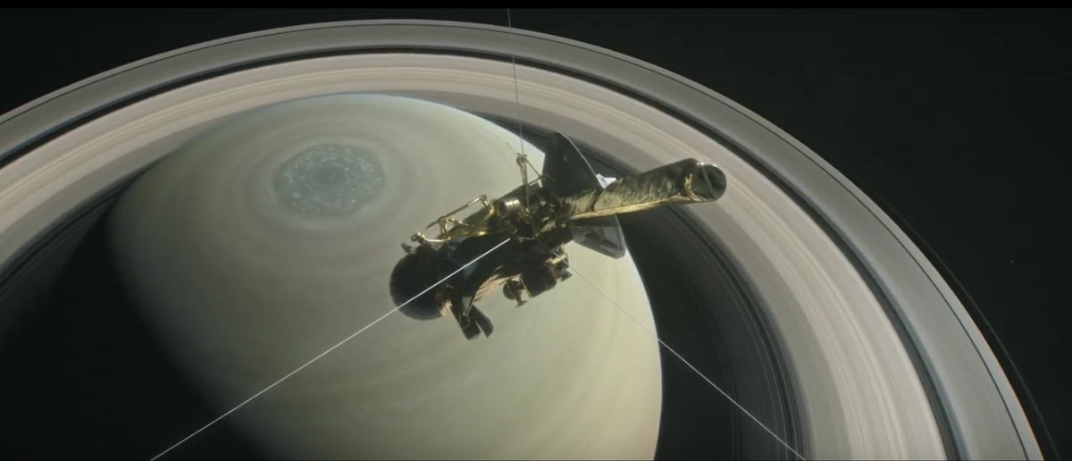 NASA at Saturn: Cassini's Grand Finale (Youtube Screenshot/NASA Jet Propulsion Laboratory)