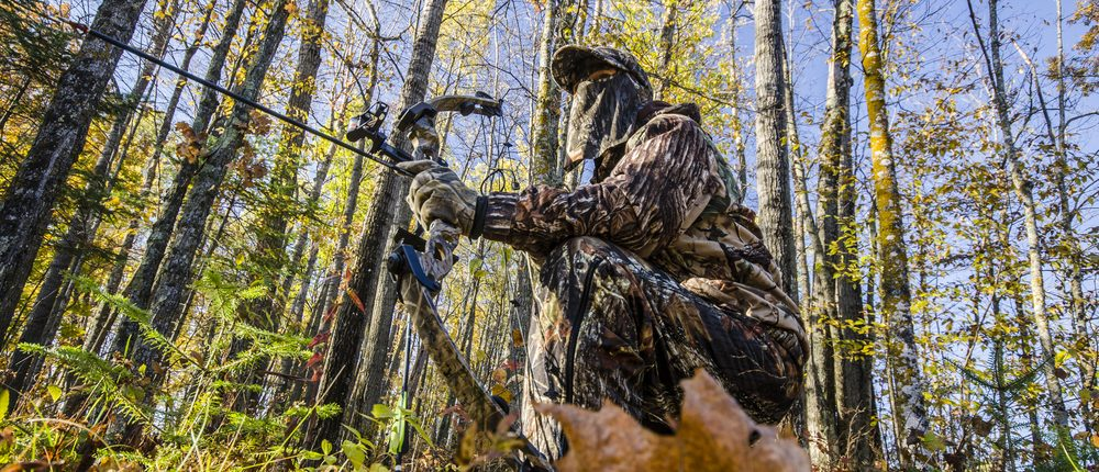 Bowhunting (Photo via Shutterstock)
