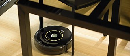 Roombas can reach places you otherwise couldn't (Photo via Amazon)