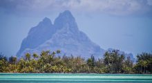 Island of Bora Bora in French Polynesia. (Photo credit: Instagram)
