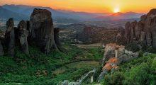 The World Heritage site in Meteroa, Greece. (Photo credit: Instagram)