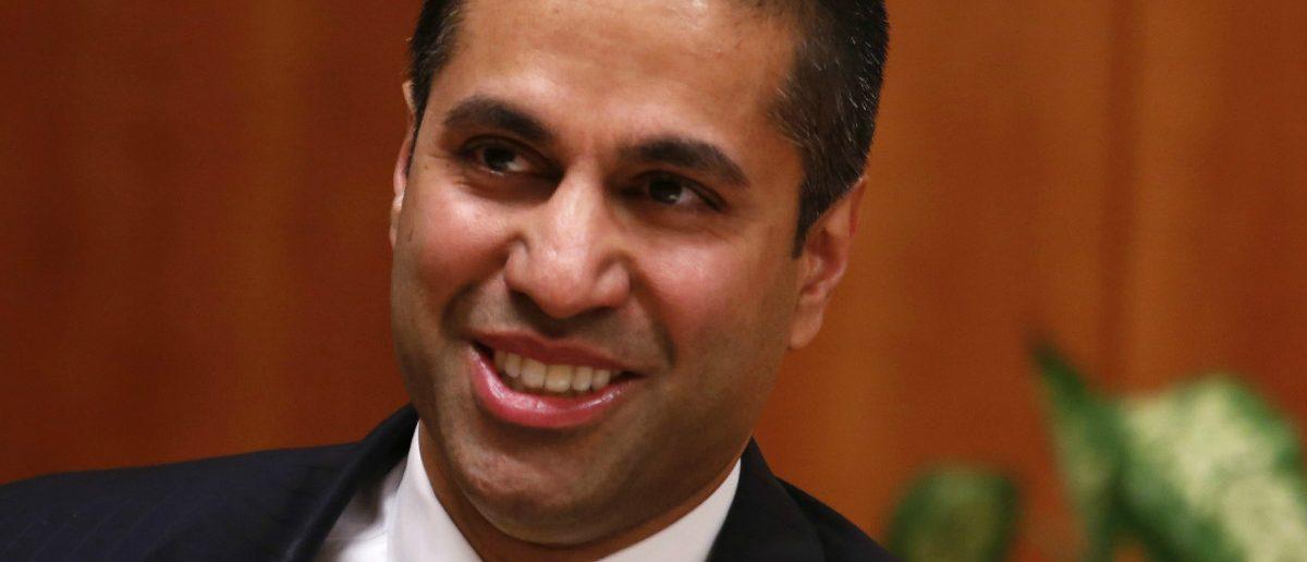 Federal Communications Commission (FCC) Chairman Ajit Pai. REUTERS/Yuri Gripas