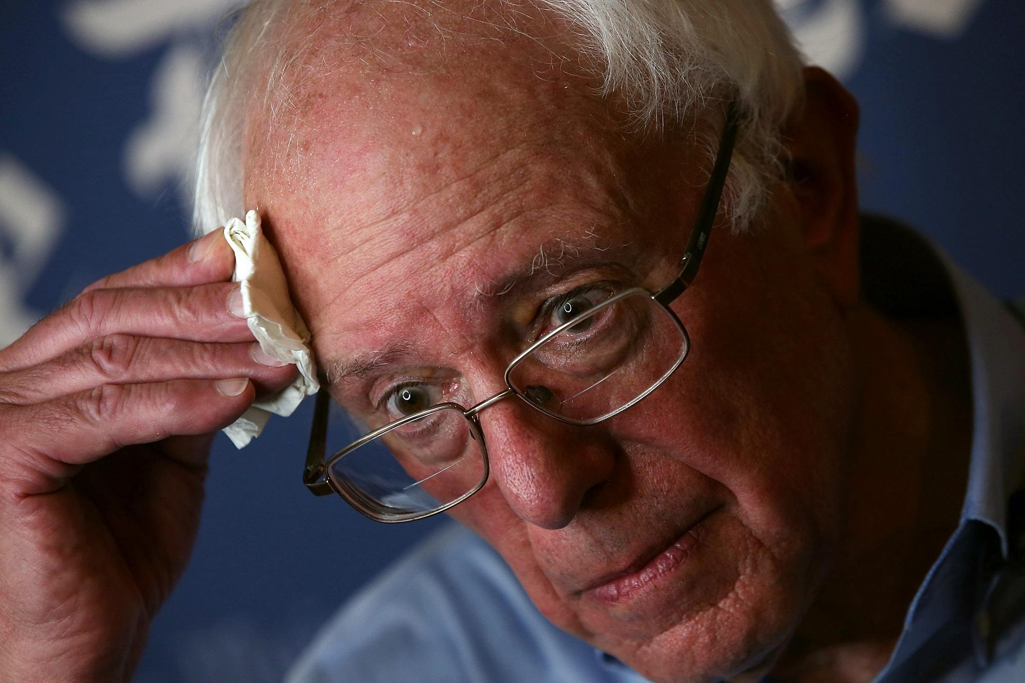 Bernie Sanders Getty Images/Justin Sullivan