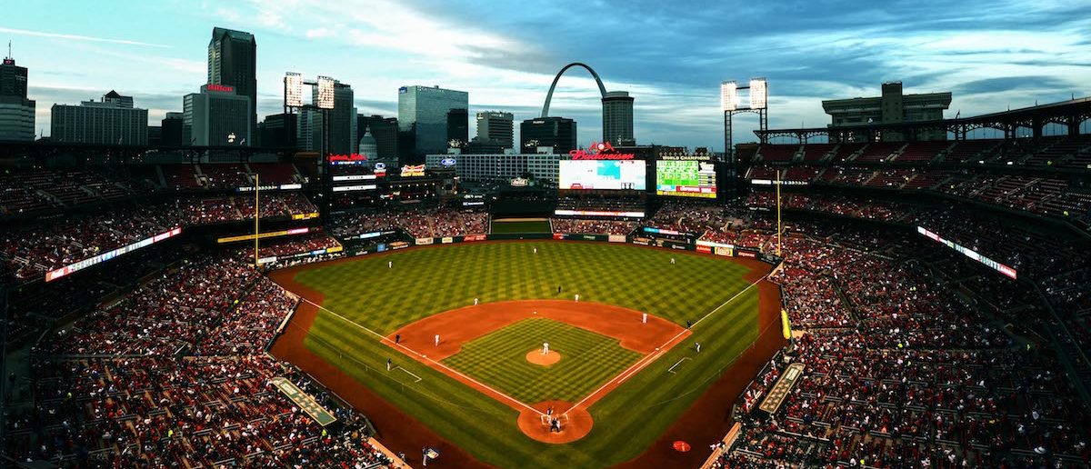 A general view of Busch Stadium as the Toronto Blue Jays play the St. Louis Cardinals during the fifth inning at Busch Stadium. (Jeff Curry-USA TODAY Sports)