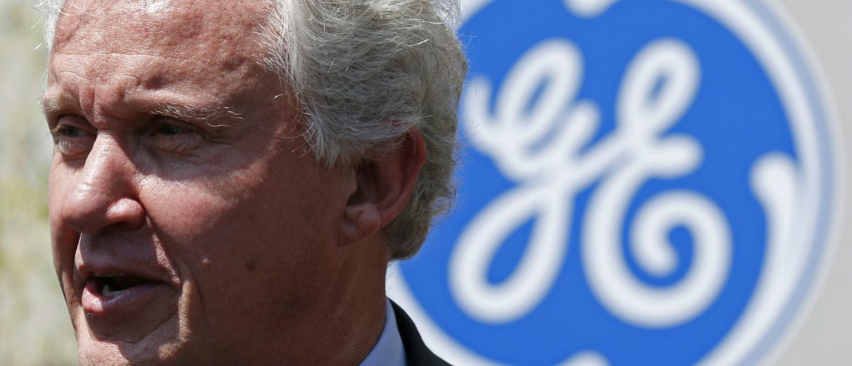 General Electric Chairman and CEO Jeffrey Immelt. (Reuters/Vincent Kessler)