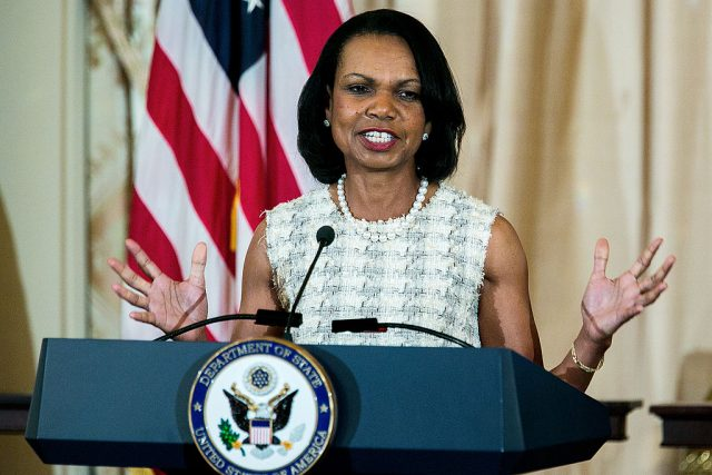 Condoleezza Rice on Slave Owner Statue Purge