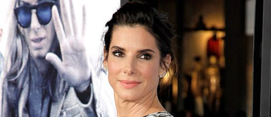 "Actress Sandra Bullock attends the premiere of Warner Bros. Pictures' ""Our Brand Is Crisis"" at TCL Chinese Theatre on October 26, 2015 in Hollywood, California.  (Photo by Tibrina Hobson/Getty Images)"