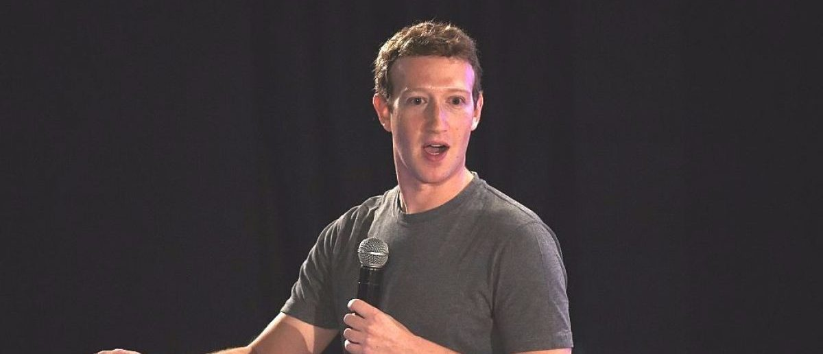Facebook chief executive and founder Mark Zuckerberg speaks during a 'town-hall' meeting at the Indian Institute of Technology (IIT) in New Delhi on October 28, 2015. (Photo credit: MONEY SHARMA/AFP/Getty Images)