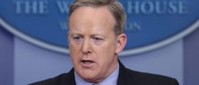 Spicer: Depp's Assassination Joke And NYC Julius Caesar Play Are 'Troubling'