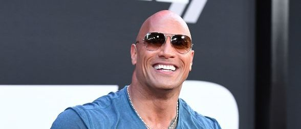 Actor Dwayne Johnson attends the premiere of Universal Pictures' 'The Fate Of The Furious' at Radio City Music Hall on April 8, 2017 in New York City. / AFP PHOTO / ANGELA WEISS        (Photo credit should read ANGELA WEISS/AFP/Getty Images)
