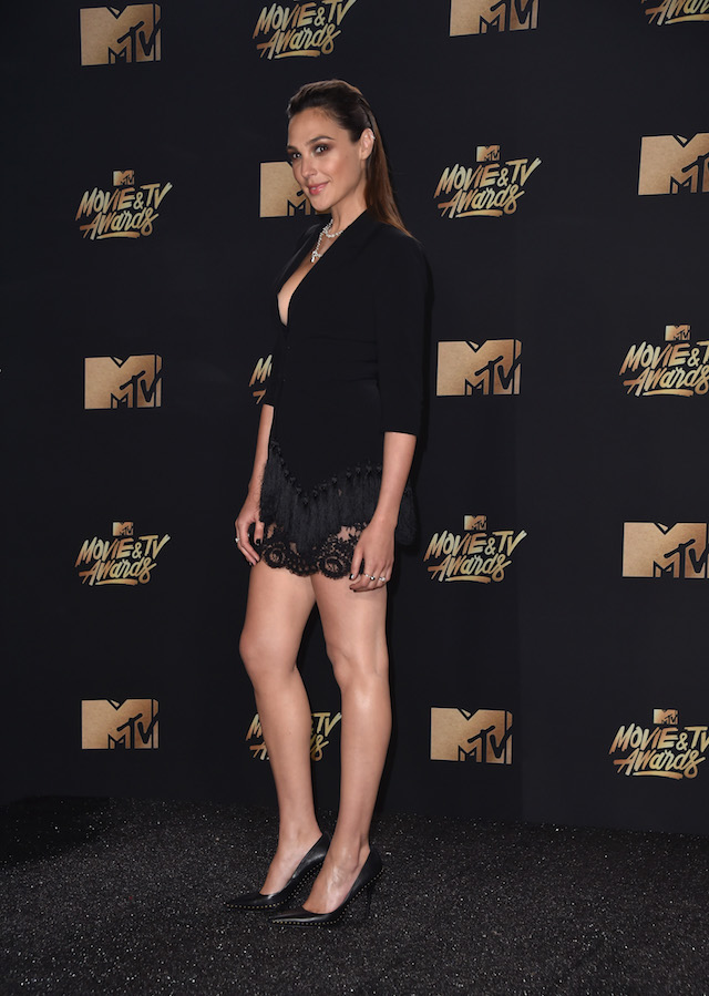 LOS ANGELES, CA - MAY 07: Actor Gal Gadot attends the 2017 MTV Movie And TV Awards at The Shrine Auditorium on May 7, 2017 in Los Angeles, California. (Photo by Alberto E. Rodriguez/Getty Images)