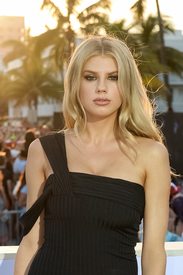 """MIAMI, FL - MAY 13: Charlotte McKinney attends Paramount Pictures' World Premiere of """"Baywatch""""on May 13, 2017 in Miami, Florida. (Photo by Jason Koerner/Getty Images)"""