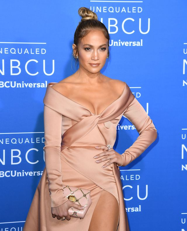 Jennifer Lopez attends the NBCUniversal 2017 Upfront on May 15, 2017 in New York City. / AFP PHOTO / ANGELA WEISS (Photo credit should read ANGELA WEISS/AFP/Getty Images)