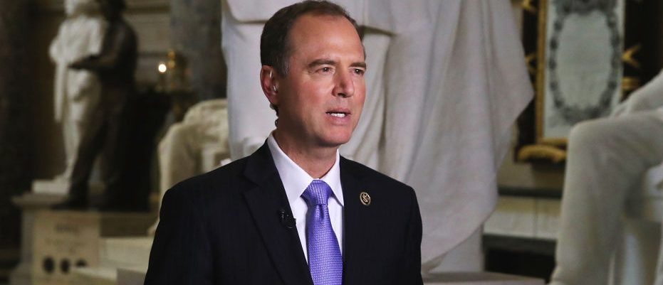 House Intelligence Committee ranking member Rep. Adam Schiff speaks to the media on May 17, 2017 in Washington, D.C. (Photo by Mark Wilson/Getty Images)