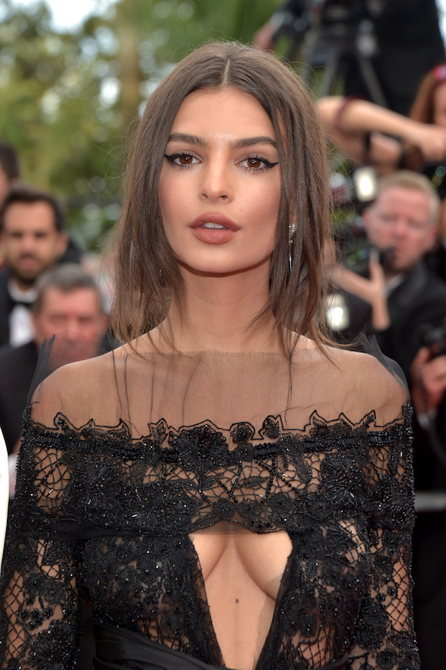 "CANNES, FRANCE - MAY 18: Model Emily Ratajkowski attends the ""Loveless (Nelyubov)"" screening during the 70th annual Cannes Film Festival at Palais des Festivals on May 18, 2017 in Cannes, France. (Photo by Pascal Le Segretain/Getty Images)"