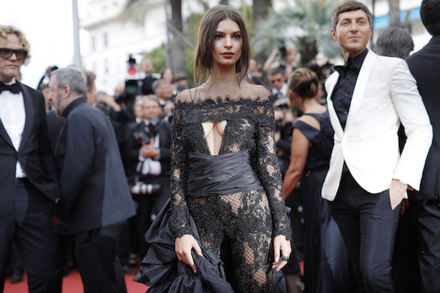"CANNES, FRANCE - MAY 18: Emily Ratajkowski attends the ""Loveless (Nelyubov)"" screening during the 70th annual Cannes Film Festival at Palais des Festivals on May 18, 2017 in Cannes, France. (Photo by Andreas Rentz/Getty Images)"