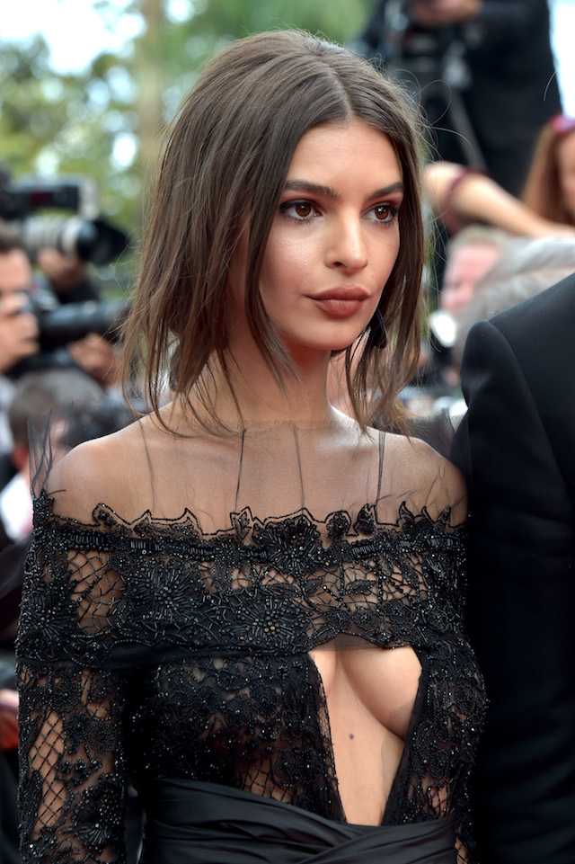 "CANNES, FRANCE - MAY 18: Emily Ratajkowski attends the ""Loveless (Nelyubov)"" screening during the 70th annual Cannes Film Festival at Palais des Festivals on May 18, 2017 in Cannes, France. (Photo by Pascal Le Segretain/Getty Images)"