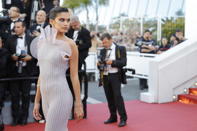 "CANNES, FRANCE - MAY 20: Sara Sampaio attends the ""120 Beats Per Minute (120 Battements Par Minute)"" screening during the 70th annual Cannes Film Festival at Palais des Festivals on May 20, 2017 in Cannes, France. (Photo by Andreas Rentz/Getty Images)"