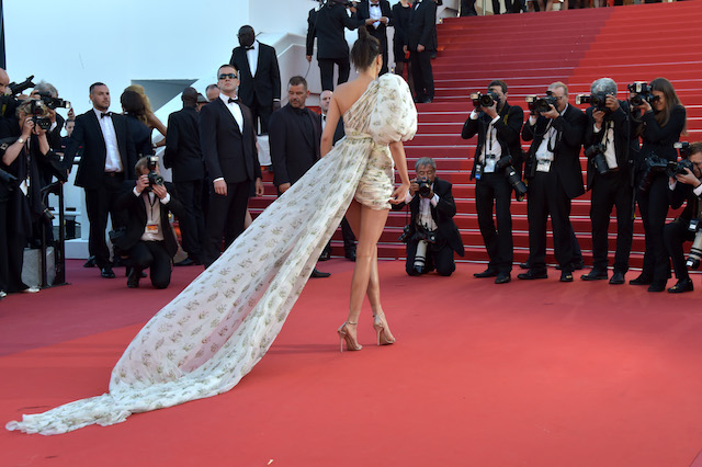 """CANNES, FRANCE - MAY 20: Model Kendall Jenner attends the """"120 Beats Per Minute (120 Battements Par Minute)"""" screening during the 70th annual Cannes Film Festival at Palais des Festivals on May 20, 2017 in Cannes, France. (Photo by Pascal Le Segretain/Getty Images)"""