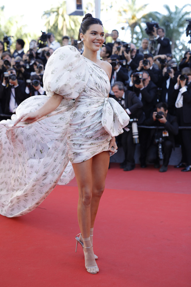 """CANNES, FRANCE - MAY 20: Model Kendall Jenner attends the """"120 Beats Per Minute (120 Battements Par Minute)"""" screening during the 70th annual Cannes Film Festival at Palais des Festivals on May 20, 2017 in Cannes, France. (Photo by Andreas Rentz/Getty Images)"""
