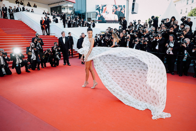 CANNES, FRANCE - MAY 20: (EDITORS NOTE : This image has been processed with digital filters) Kendell Jenner attends the '120 Beats Per Minute (120 Battements Par Minute)' screening during the 70th annual Cannes Film Festival at on May 20, 2017 in Cannes, France. (Photo by Neilson Barnard/Getty Images)