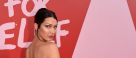 PHOTOS: Bella Hadid Hits The Streets In Italy In Lingerie