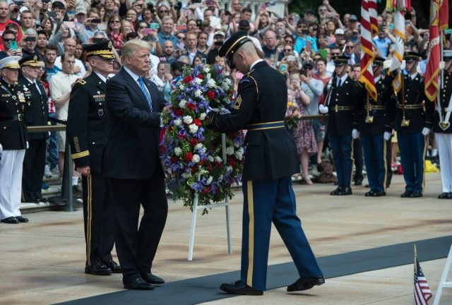 How Trump and Pence Are Honoring America's Fallen Heroes on Memorial Day
