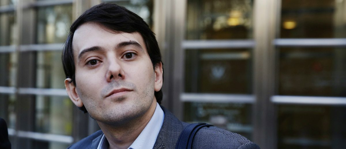 Martin Shkreli, former chief executive officer of Turing Pharmaceuticals and KaloBios Pharmaceuticals Inc: April 26, 2017. REUTERS/Brendan McDermid