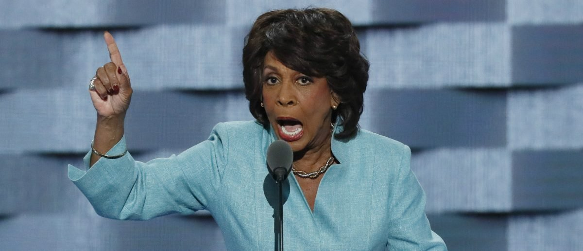 Rep. Maxine Waters (D-CA) speaks on the third day of the Democratic National Convention in Philadelphia, Pennsylvania, U.S. July 27, 2016. REUTERS/Mike Segar