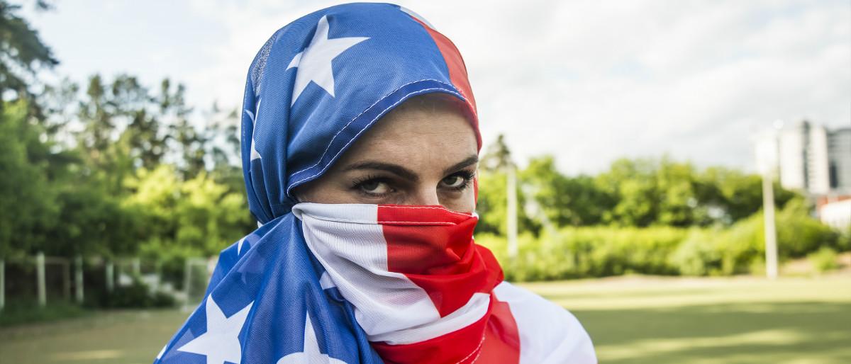 Muslim USA flag Shutterstock/maradon 333