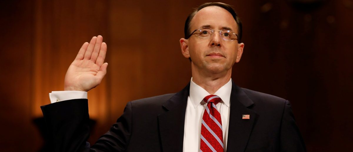 Rod Rosenstein Renewed Spy Warrant Against Trump Adviser Last Year: Report