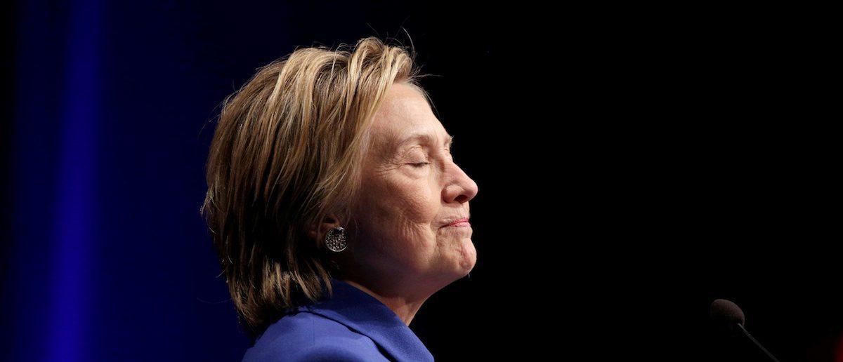 Hillary Clinton speaks to the Childrenís Defense Fund in Washington, U.S., November 16, 2016.      REUTERS/Joshua Roberts - RTX2U1G4