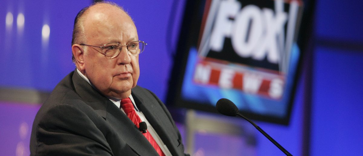 Roger Ailes, chairman and CEO of Fox News and Fox Television Stations, attends a panel discussion at the Television Critics Association summer press tour in Pasadena, California July 24, 2006. REUTERS/Fred Prouser