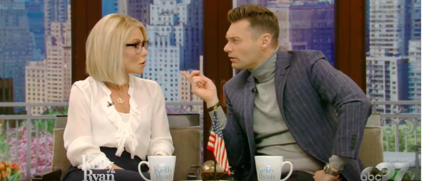 Live with Kelly and Ryan (photo by: YouTube Screenshot)