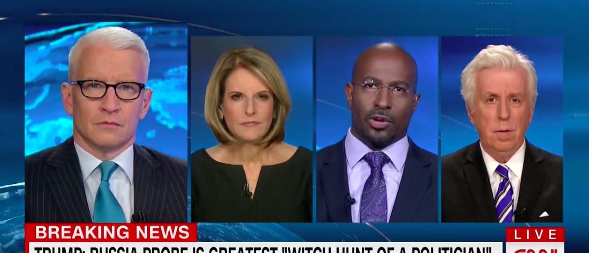 Screen Shot CNN Panel With Van Jones (May 19, 2017)