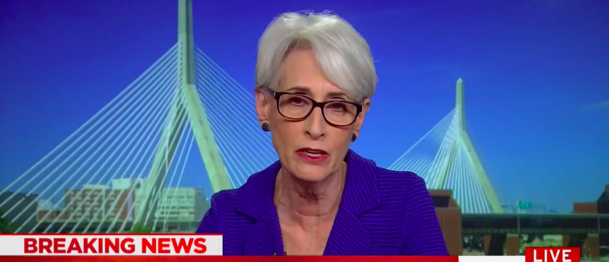 Screen Shot Wendy Sherman On MSNBC (May 19, 2017)