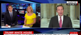 Sen. Murphy: Trump's Rhetoric Makes US 'Vulnerable' To Terrorism [VIDEO]