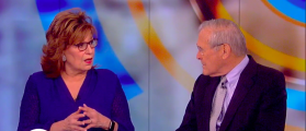 Donald Rumsfeld Shuts Down Joy Behar Over Election Results With Two Words