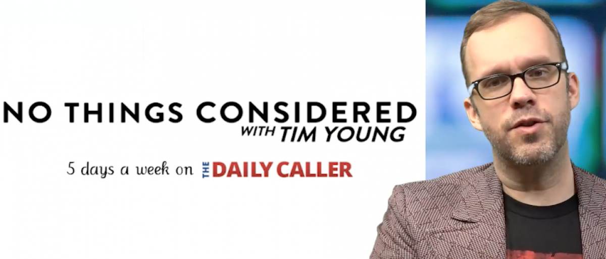 Tim Young no things considered screengrab