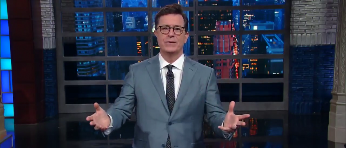 Stephen Colbert declares Victory over Trump Youtube