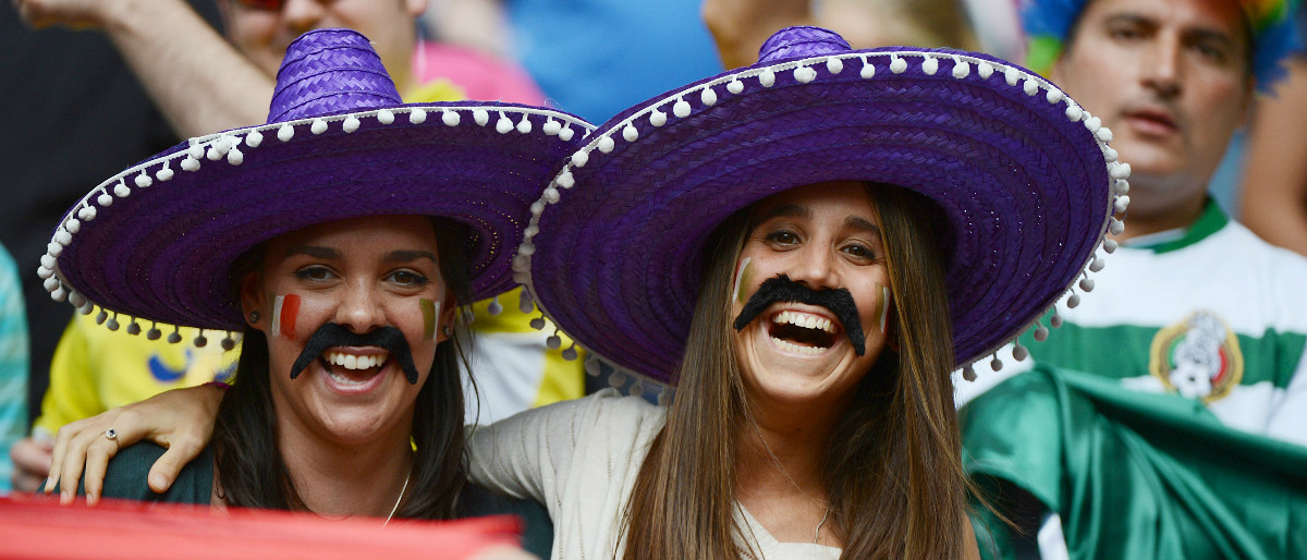 fake Mexican mustaches Getty Images/Khaled Desouki