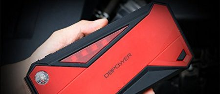 This jump starter is ultra compact so it fits in your glovebox (Photo via Amazon)