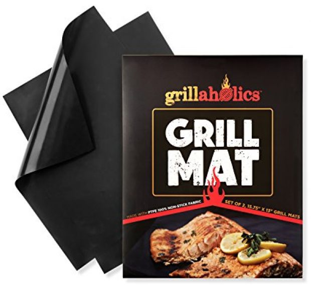 Normally $40, this grill mat is 50 percent off (Photo via Amazon)